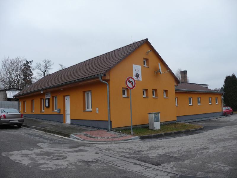 Nove Hrady budova
